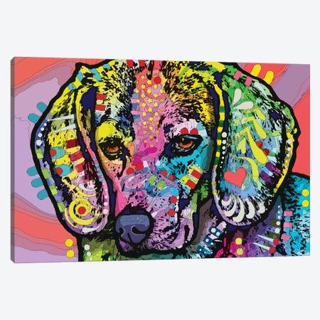 Magic Beagle Canvas Print #DRO966} by Dean Russo Canvas Art Print