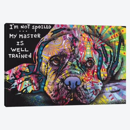 Not Spoiled Canvas Print #DRO975} by Dean Russo Canvas Art