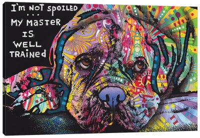Not Spoiled Canvas Art Print