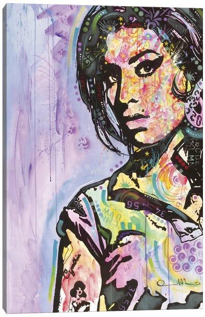 Amy Winehouse Canvas Print #DRO97