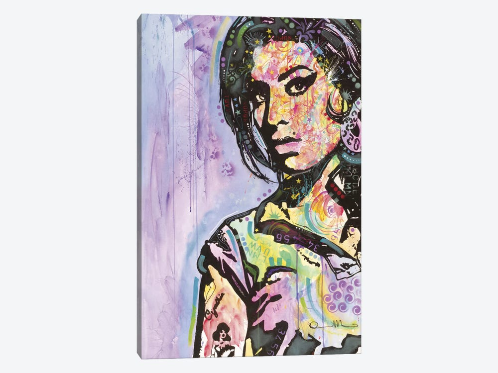 Amy Winehouse by Dean Russo 1-piece Canvas Print