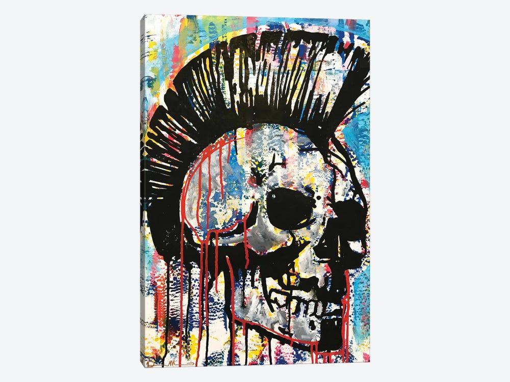 Punk Skull by Dean Russo 1-piece Canvas Wall Art