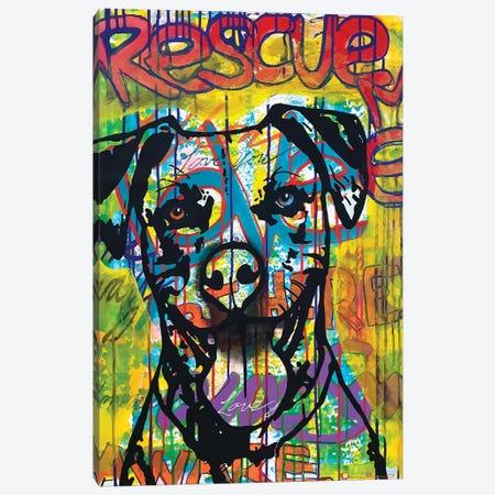 Rescue Me Canvas Print #DRO984} by Dean Russo Art Print