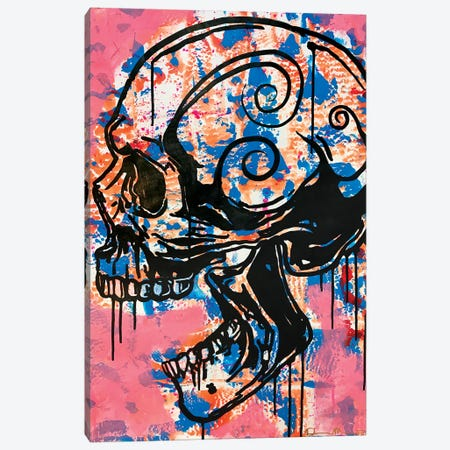 Screaming Skull I Canvas Print #DRO987} by Dean Russo Canvas Print