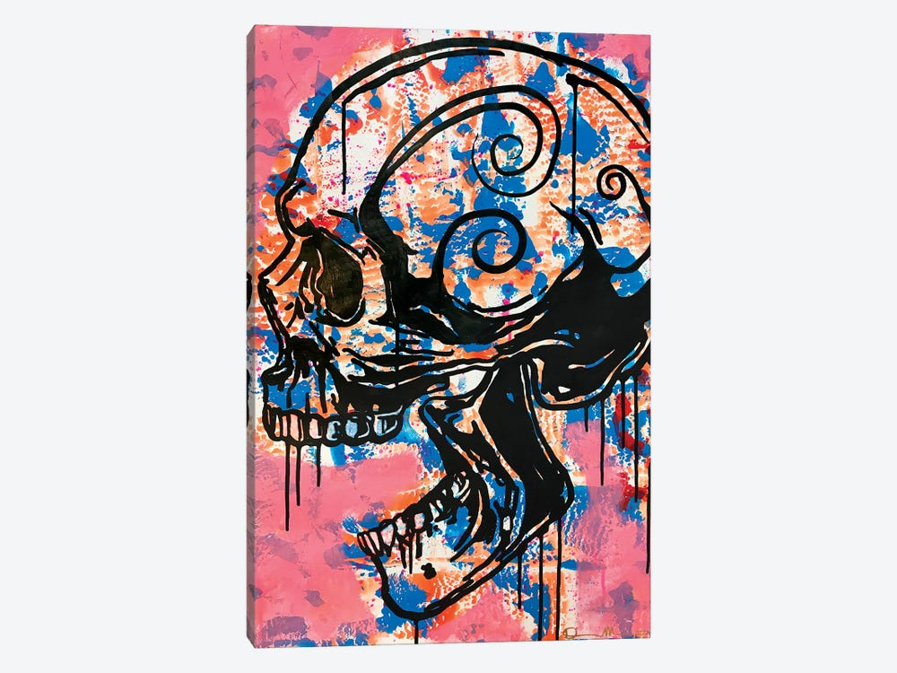 Screaming Skull I by Dean Russo 1-piece Canvas Artwork