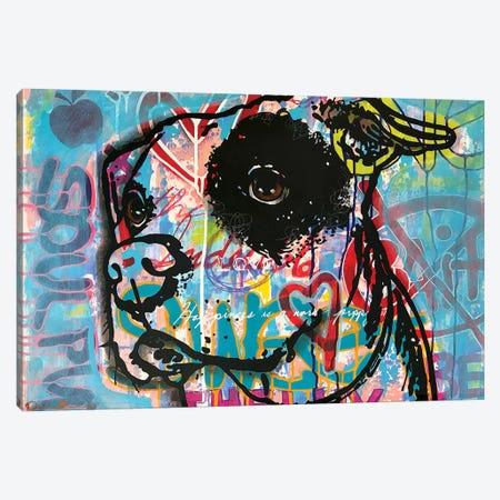 Soul Pup Canvas Print #DRO991} by Dean Russo Canvas Print