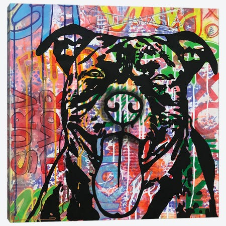 Survivor Canvas Print #DRO999} by Dean Russo Canvas Print