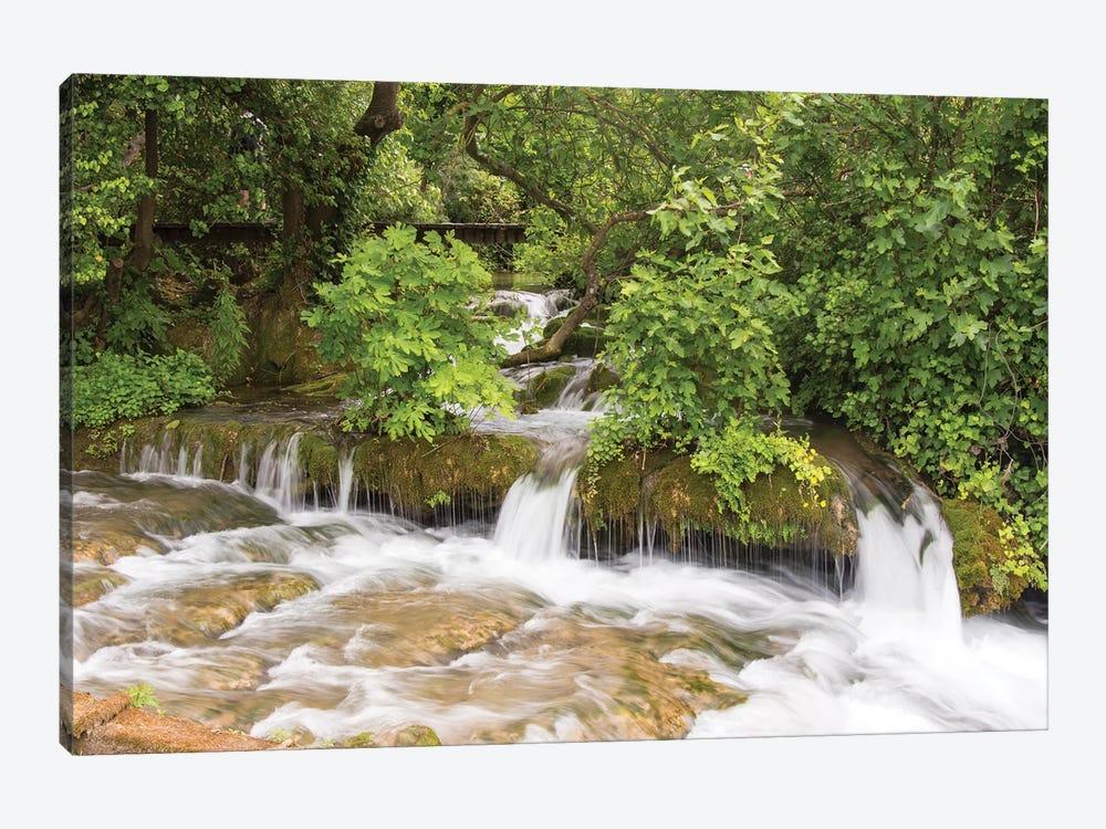 Croatia. Krka National Park cascades. UNESCO World Heritage Site. by Trish Drury 1-piece Art Print