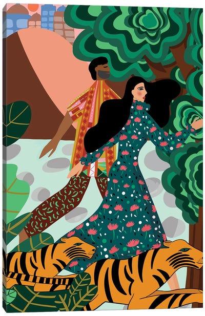 Escape To The Wild Canvas Art Print