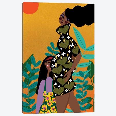 Eternal Connection Canvas Print #DRZ12} by Dina Razin Canvas Art