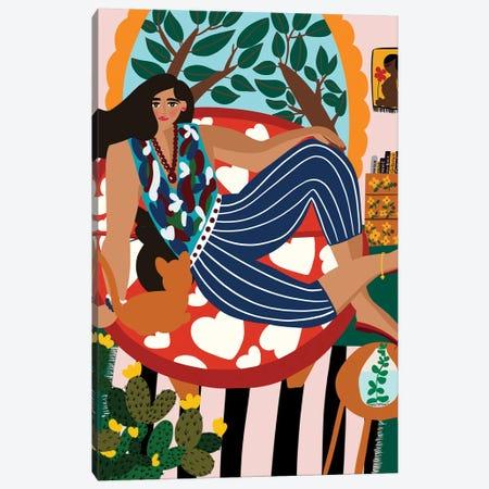 My Paradise Canvas Print #DRZ22} by Dina Razin Art Print