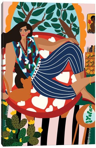 My Paradise Canvas Art Print