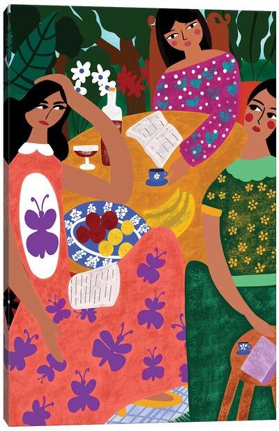 Summer Book Club Canvas Art Print