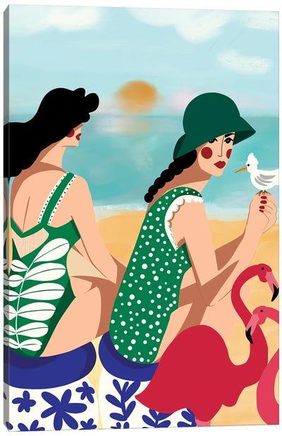 Summer Love Canvas Art Print