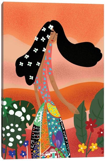 Yasmine Bride Canvas Art Print