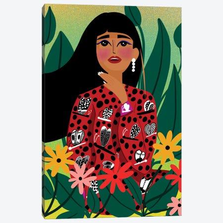Young Spirit Canvas Print #DRZ34} by Dina Razin Canvas Art Print