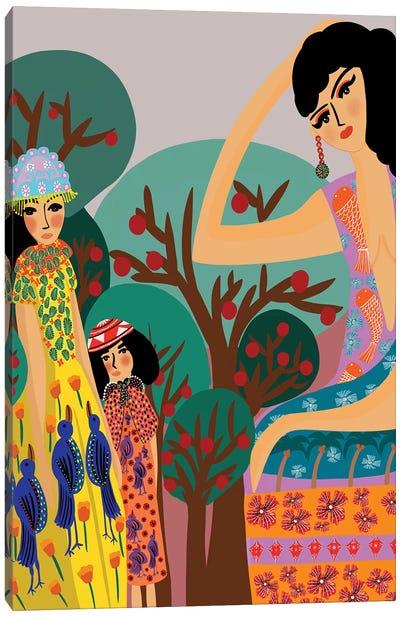 Apple Trees Canvas Art Print