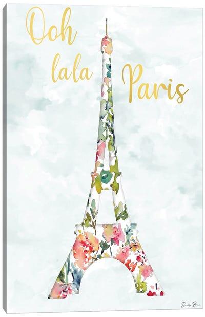 Oh La La Paris Canvas Art Print