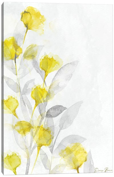Modern Poppies I Canvas Art Print