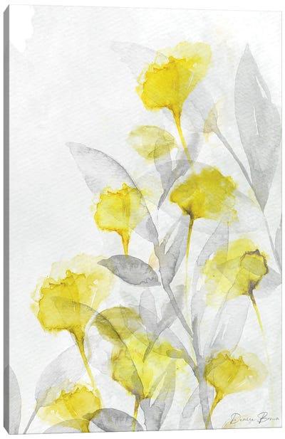 Modern Poppies II Canvas Art Print