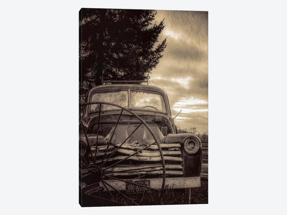 Vintage Truck by Don Schwartz 1-piece Canvas Artwork