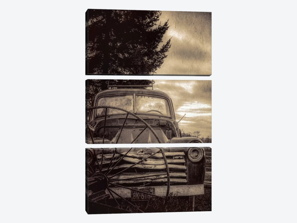 Vintage Truck by Don Schwartz 3-piece Canvas Wall Art