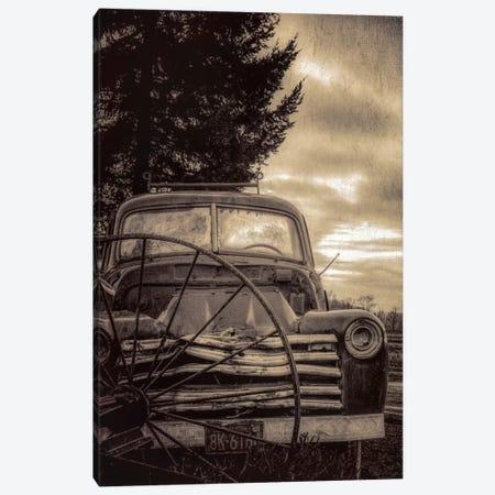 Vintage Truck Canvas Print #DSC100} by Don Schwartz Canvas Art