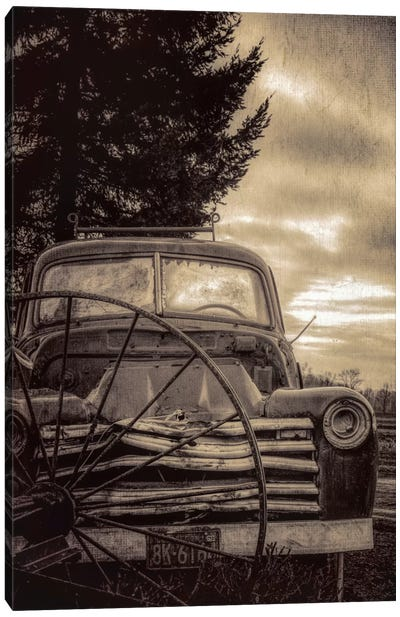 Vintage Truck Canvas Art Print