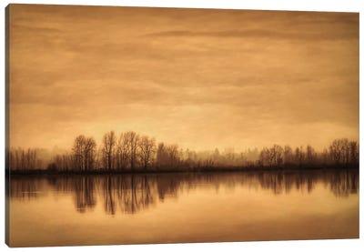 Winter On The River Canvas Print #DSC103