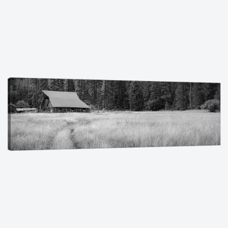 Barn At Red's Canvas Print #DSC112} by Don Schwartz Canvas Print