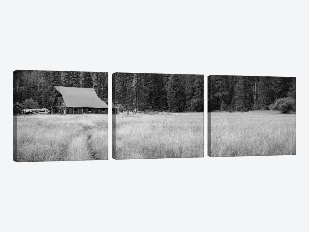 Barn At Red's by Don Schwartz 3-piece Art Print