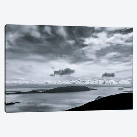 San Juan Islands Morning Canvas Print #DSC120} by Don Schwartz Canvas Art
