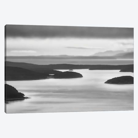 San Juan Islands Stillness Canvas Print #DSC121} by Don Schwartz Canvas Artwork