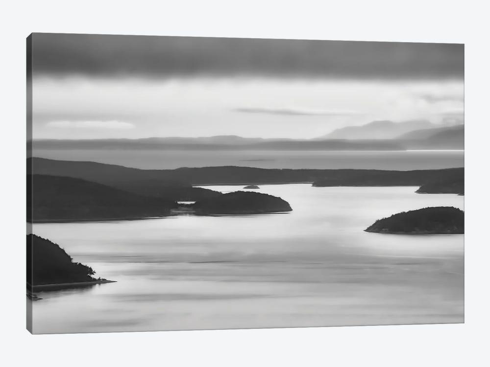 San Juan Islands Stillness by Don Schwartz 1-piece Canvas Print