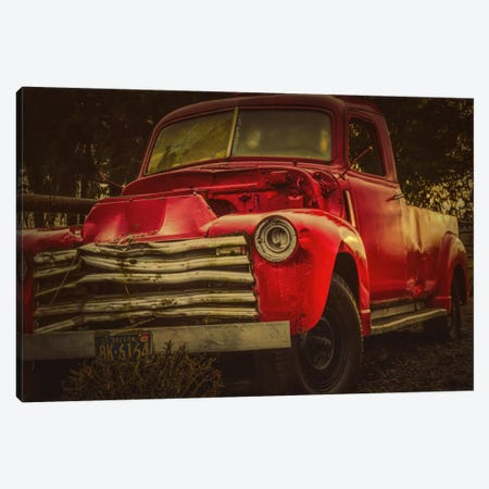 Battered Truck Canvas Print #DSC14} by Don Schwartz Canvas Art Print