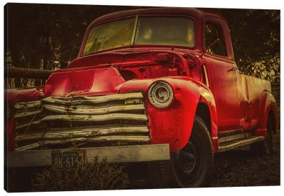 Battered Truck Canvas Art Print