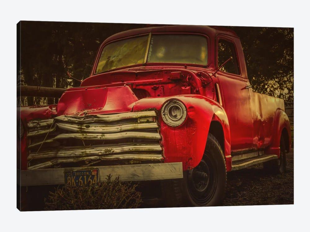 Battered Truck by Don Schwartz 1-piece Canvas Art