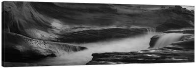 Canyon Splash Canvas Art Print