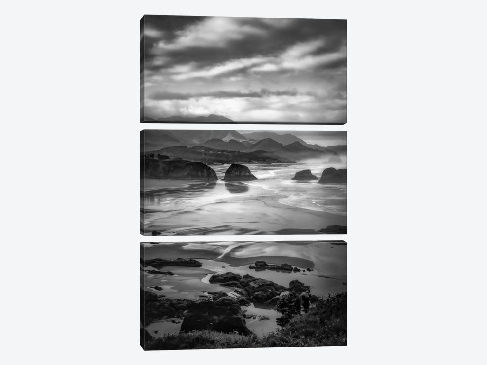 Coastal Dawn by Don Schwartz 3-piece Canvas Print