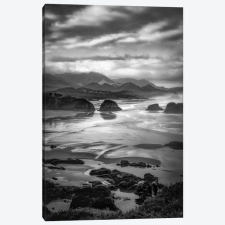 Coastal Dawn Canvas Print #DSC19} by Don Schwartz Canvas Art