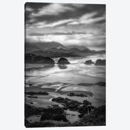 Coastal Dawn Canvas Print #DSC19} by Don Schwartz Canvas Art