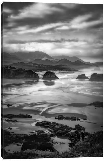 Coastal Dawn Canvas Art Print