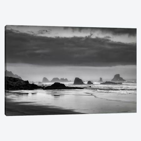 Coastal Revelation Canvas Print #DSC20} by Don Schwartz Art Print