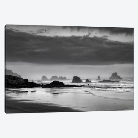 Coastal Revelation Canvas Print #DSC20} by Don Schwartz Art Print