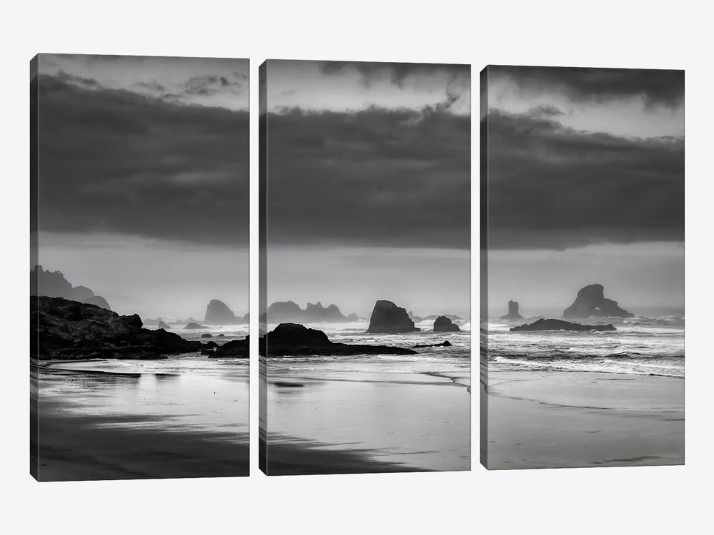 Coastal Revelation by Don Schwartz 3-piece Canvas Print