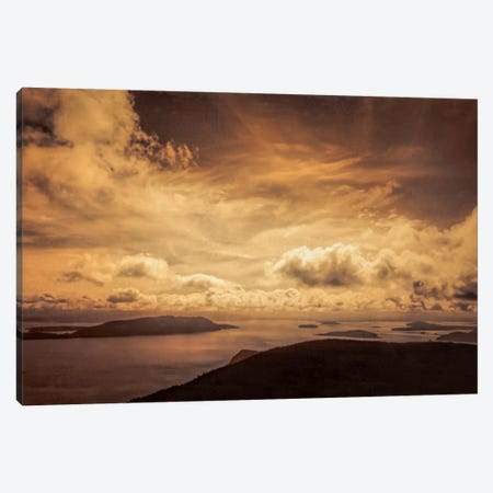 Daybreak Canvas Print #DSC26} by Don Schwartz Canvas Wall Art