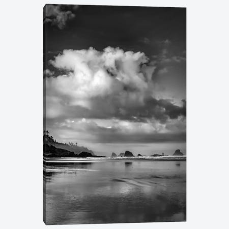 Fair Weather Morning In B&W Canvas Print #DSC29} by Don Schwartz Art Print