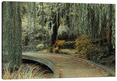 Garden Path Canvas Art Print
