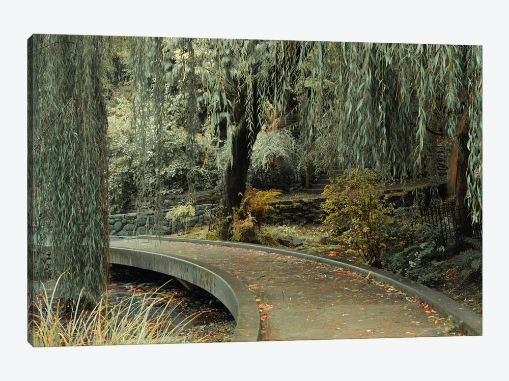 Garden Path by Don Schwartz 1-piece Canvas Art Print