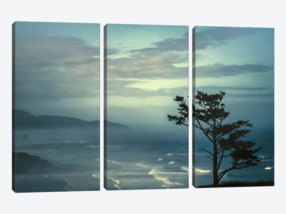 Gentle Waves by Don Schwartz 3-piece Canvas Art